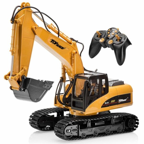 Excavator-Construction-Tractor-Excavator-Toy-with-2-4Ghz-Transmitter-and-Metal-Shovel-TR-211/151263642
